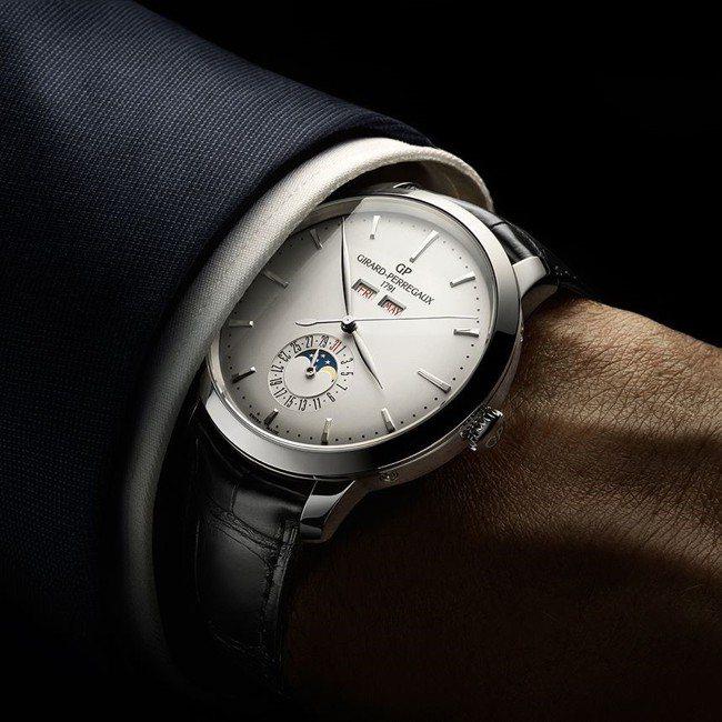 源自1966年古董款式的芝柏1966全日曆腕表,體現了流傳至今的美好與古典。圖╱...