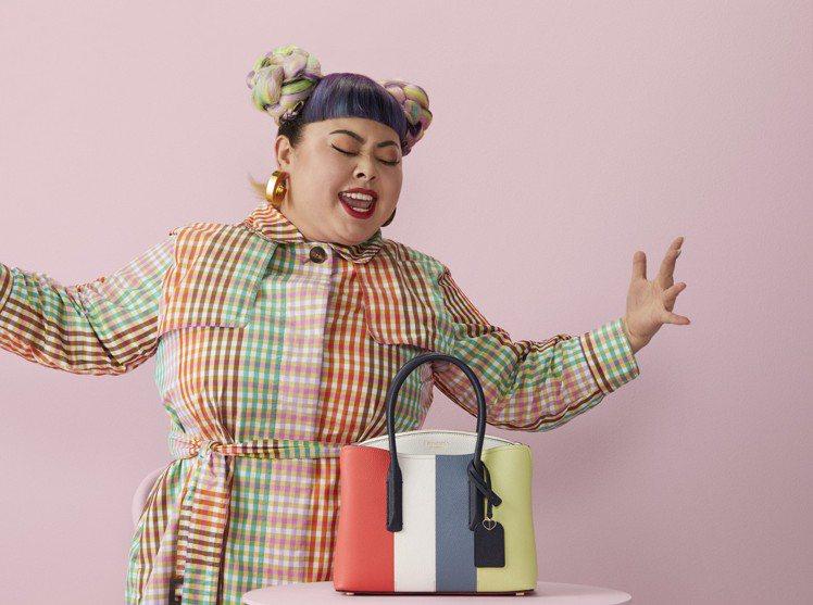 渡邊直美的幽默個性和對生活的熱愛,讓她成為kate spade新任全球代言人。圖...