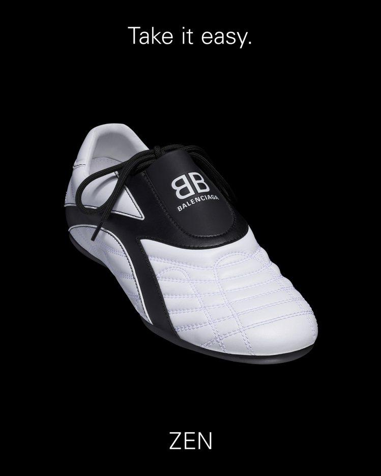 BALENCIAGA最新推出的ZEN系列鞋款,18,450元。圖/BALENCI...