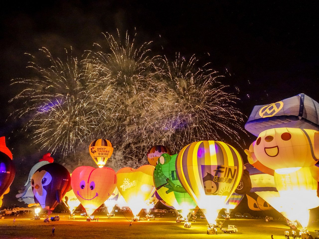 因應武漢肺炎疫情,今年台東國際熱氣球嘉年華活動,將延期至7月11日至8月30日舉...