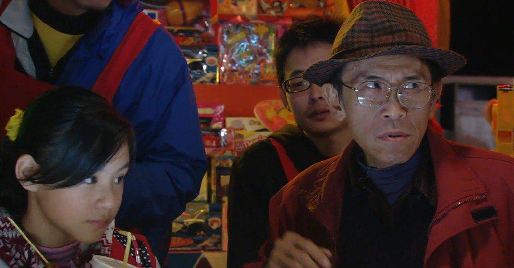 小戽斗(右)客串「空氣男的告白」。圖/公視提供