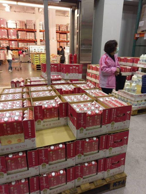 美式賣場的厚奶茶已退燒。圖/聯合報系資料照片