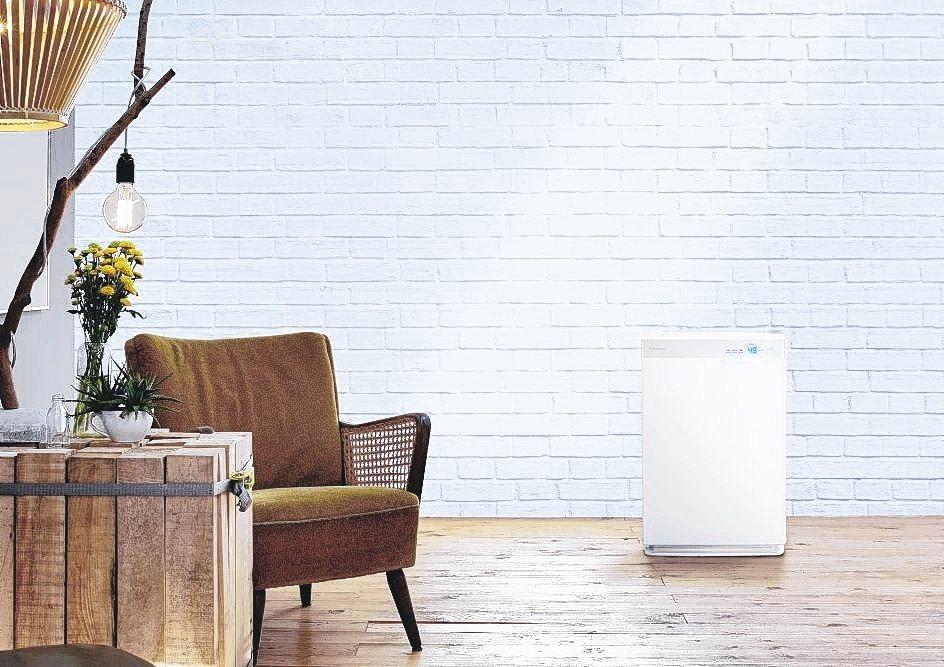 大金頂級款空氣清淨機MCK70VSCT-W,可過濾99.97%的PM0.3,及濾...