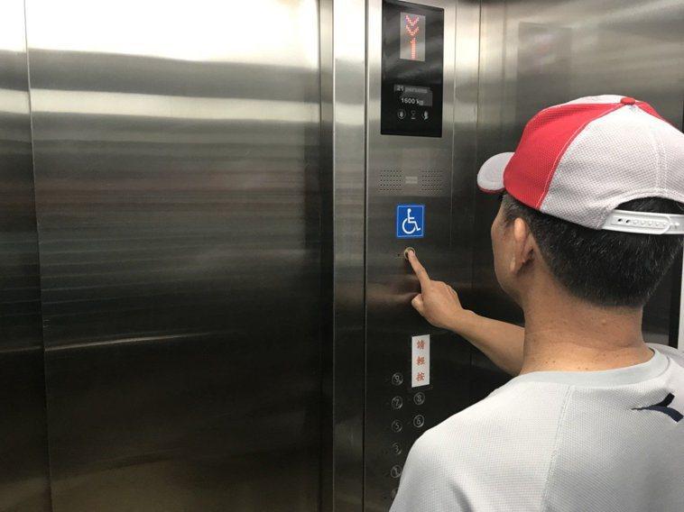 鍾南山提醒,在密閉空間裡,電梯是新型冠狀病毒感染危險性最高的場所。 圖/聯合報系...