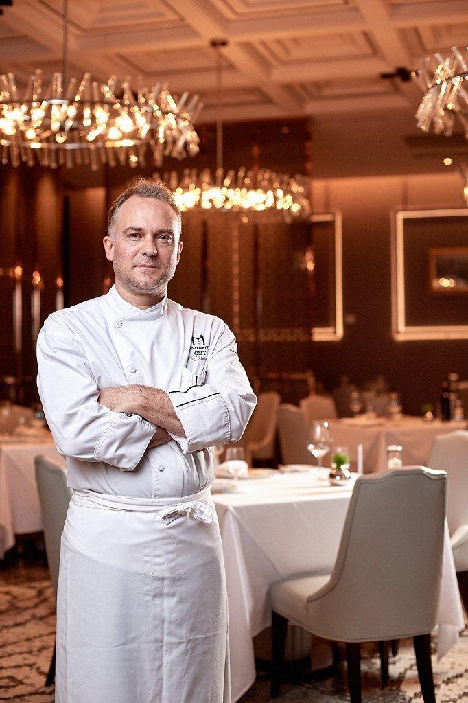 台北美福大飯店西餐總主廚Massimo Picci。業者/提供