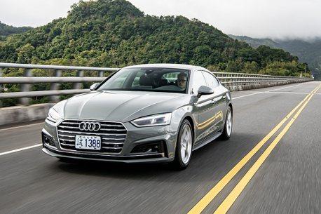 運動型男!Audi A5 Sportback S line進化版台灣限量升級