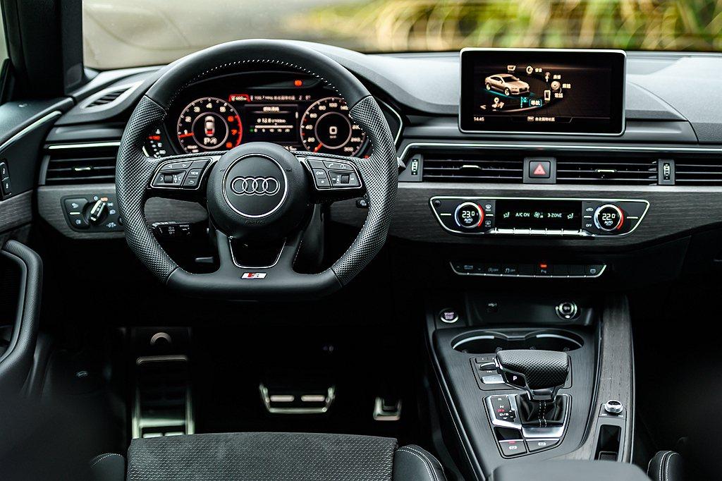 新世代12.3吋Audi Virtual Cockpit全數位虛擬駕駛座艙,亦升...