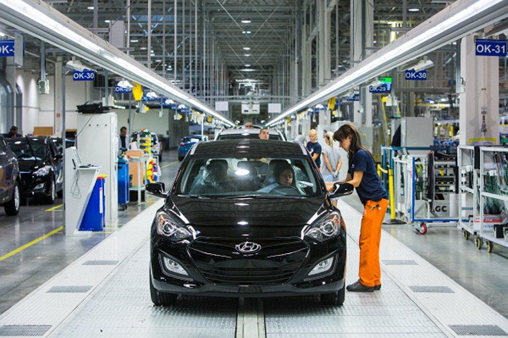 Hyundai汽車在韓國設有7座工廠以滿足當地、美國、歐洲、中東與其他市場的銷售...