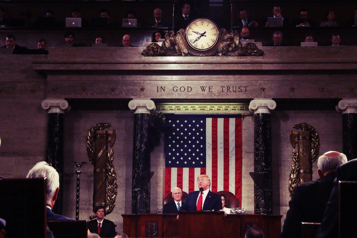 這是川普任內第三次的國情咨文演說,而本次最為外界矚目的,是發表國情咨文的同一時刻...