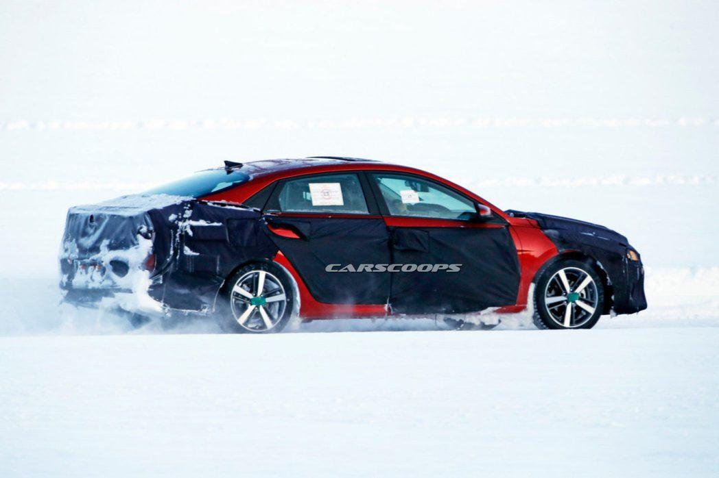全新第七代Hyundai Elantra有望於今年上半年亮相。 摘自Carsco...