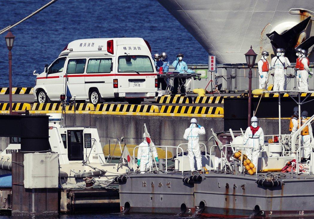 日本豪華郵輪「鑽石公主號」2月5日上午檢疫報告出爐,船上共有10人確診為武漢肺炎...