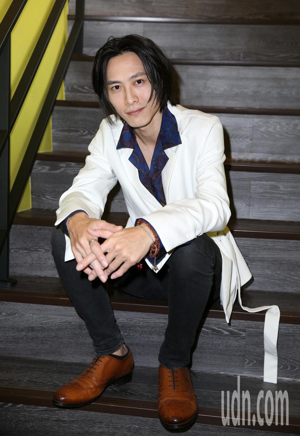 「彼岸之嫁」演員田士廣 。記者曾吉松/攝影