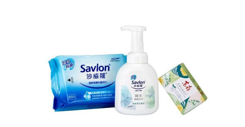 限時限量優惠活動組合內容商品為台灣抗菌領導品牌沙威隆的洗手慕斯與抗菌濕巾。圖/業者提供