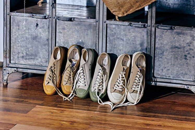 韓國的EXCELSIOR餅乾鞋發表2020年春夏四大系列。圖/EXCELSIOR...