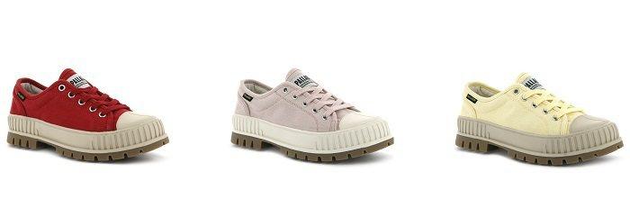 法國軍靴品牌PALLADIUM推出全新「PALLASHOCK巧克力鞋」系列。圖/...