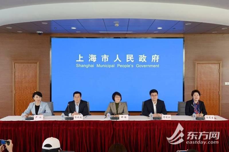 上海市今日召開疫情防控新聞發佈會,宣佈「上海市各級各類學校2月底前不開學」。取自東方網