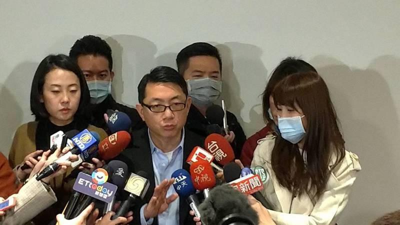 湖北台灣同胞返台救援會會長徐正文。記者林宸誼/攝影