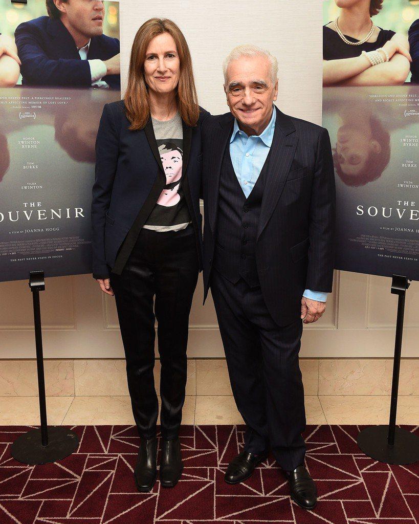 《我們的相愛時光》 導演瓊安娜霍格與監製馬丁史柯西斯。亮點國際提供
