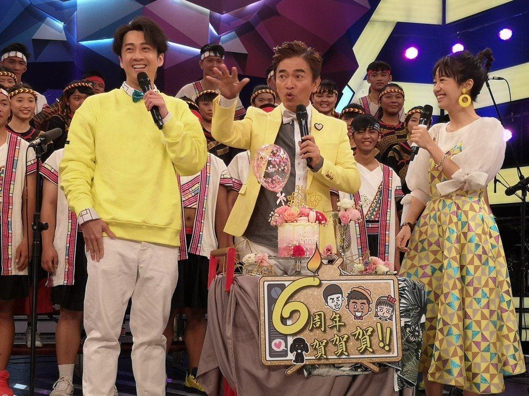 吳宗憲的「綜藝大熱門」也宣布暫時不對外開放觀眾入場。圖/三立提供