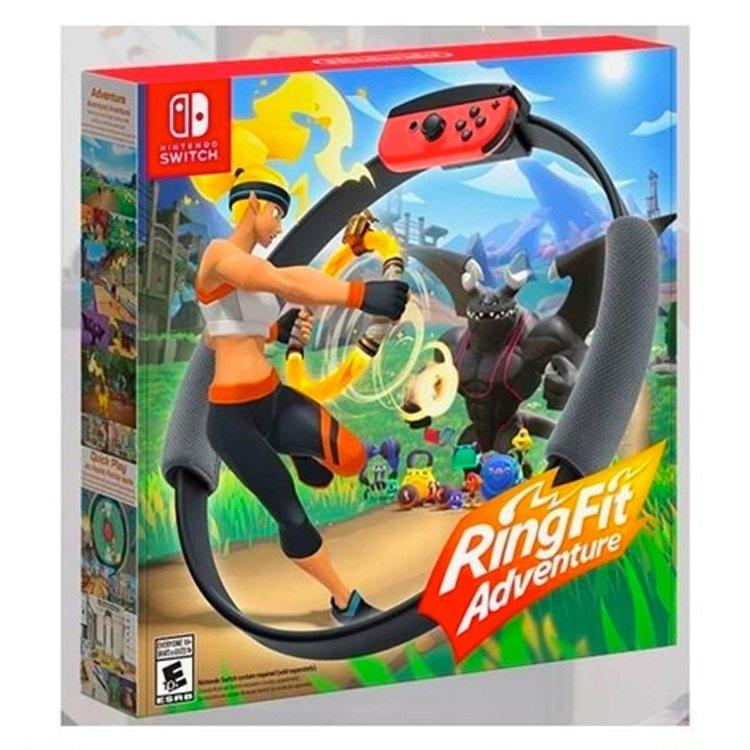 任天堂Switch健身環大冒險中文版,Yahoo奇摩超級商城特價5,470元。圖...