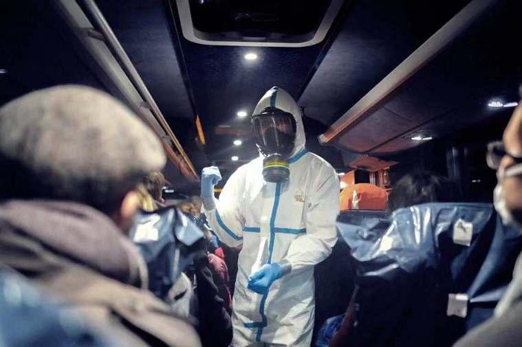武漢肺炎疫情未得到控制,仍在大陸蔓延。(美聯社)