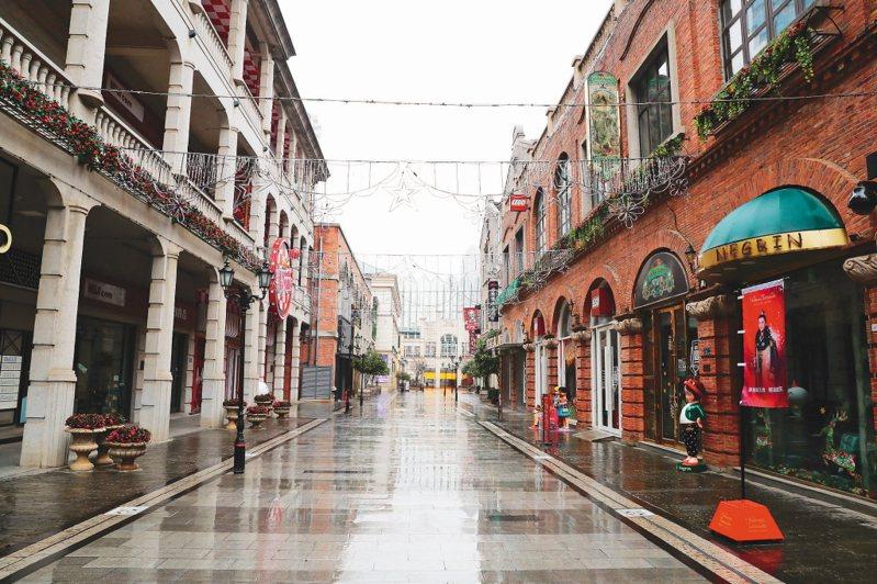 網友在武漢市聽到巨響,圖為封城後的武漢市。(中新社)