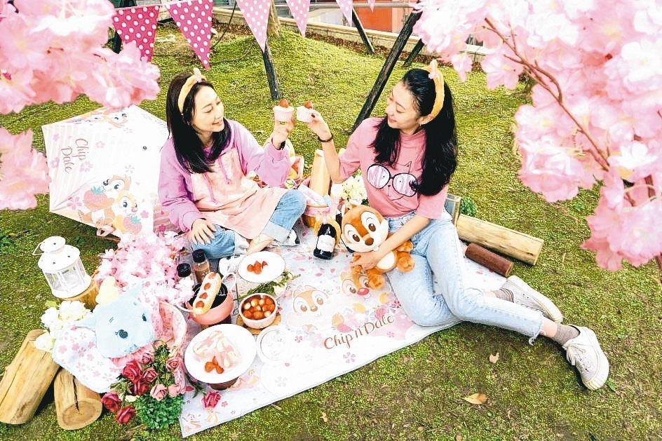 迪士尼櫻花季粉紅野餐派對。 業者/提供
