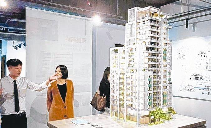 「東騰元町」讓消費者輕鬆一圓台北市成家夢。 張瑞文/攝影