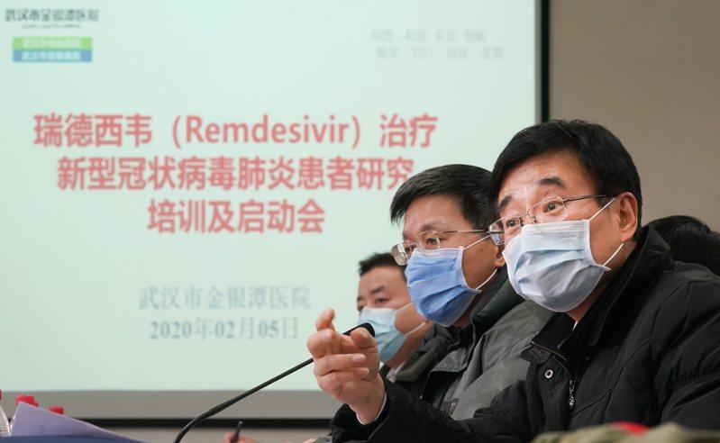 武漢病毒研究所「搶註」美國GILEAD(吉利德科學公司)研究開發的「瑞德西韋」(remdesivir)中國國內發明專利,引起輿論嘩然,有藥企力挺此作法。 新華社