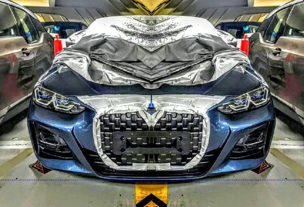 近日從工廠流出的新世代BMW 4 Series車頭照中,見到了活生生、已經回不去...