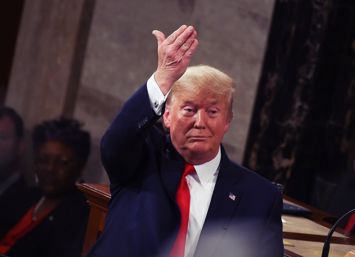 美國總統川普的彈劾審判,5日在參議院判決投票:針對川普「濫權」與「妨礙國會」的兩...
