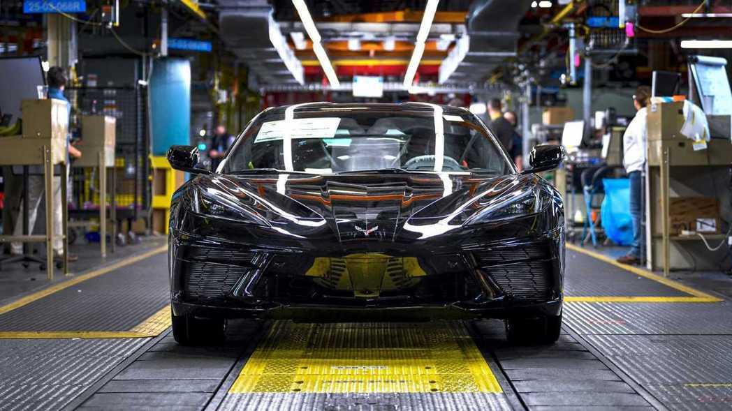 Corvette C8日前也正式開始量產。 摘自Chevrolet