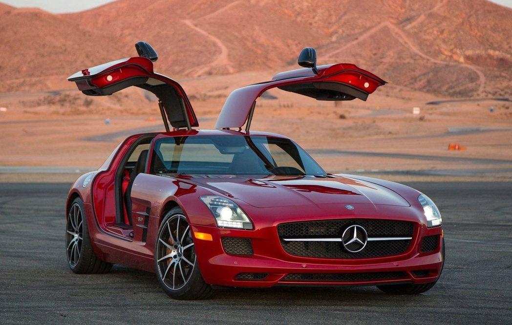 Mercedes-Benz SLS AMG GT。 摘自Mercedes