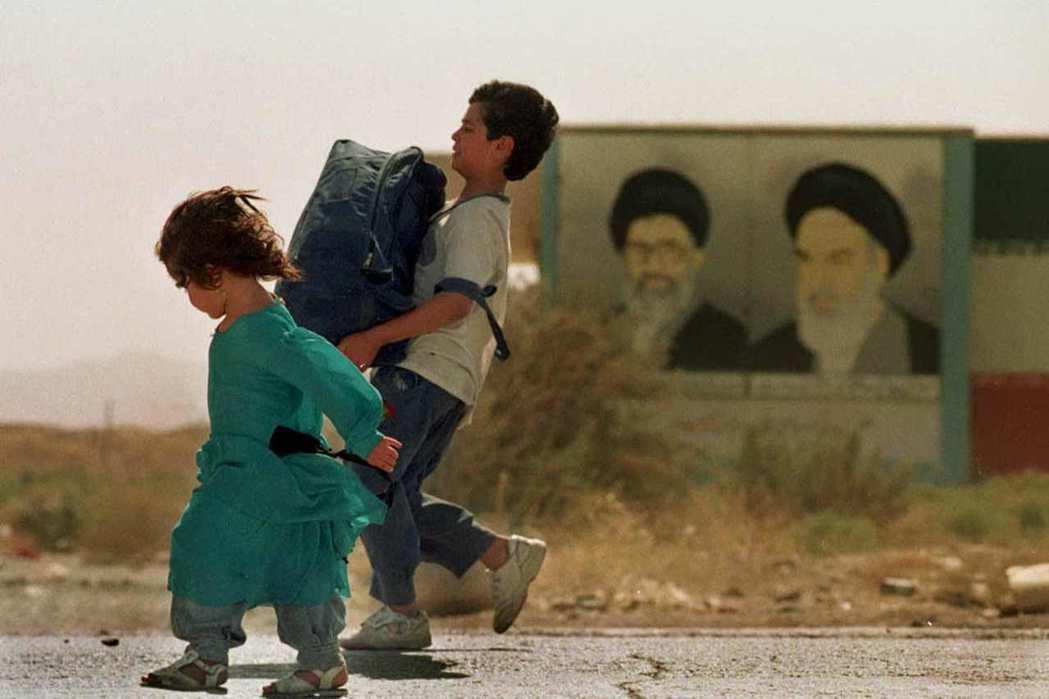 80年代起,有逾200萬難民湧入伊朗。 圖/美聯社