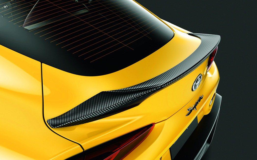 TRD推出的Supra碳纖維改裝套件「GR PARTS」。 摘自Toyota