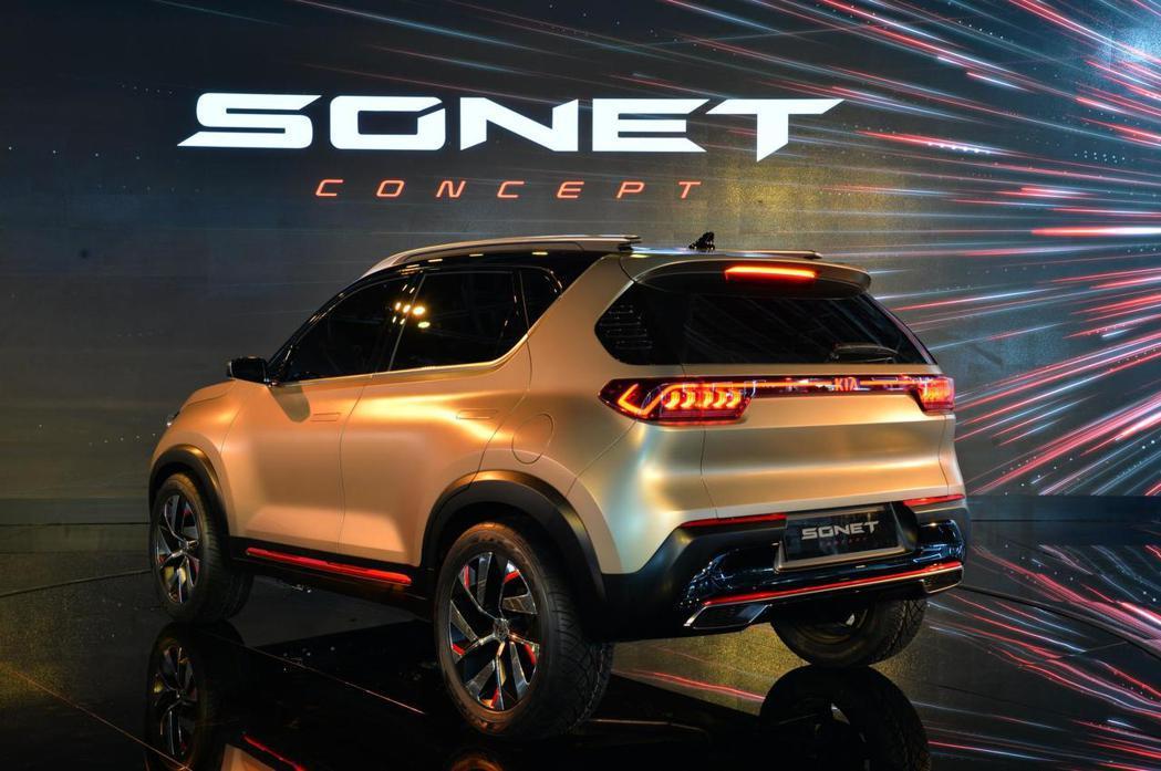 全新Kia Sonet Concept不只有品牌著名的Tiger Nose虎鼻水...