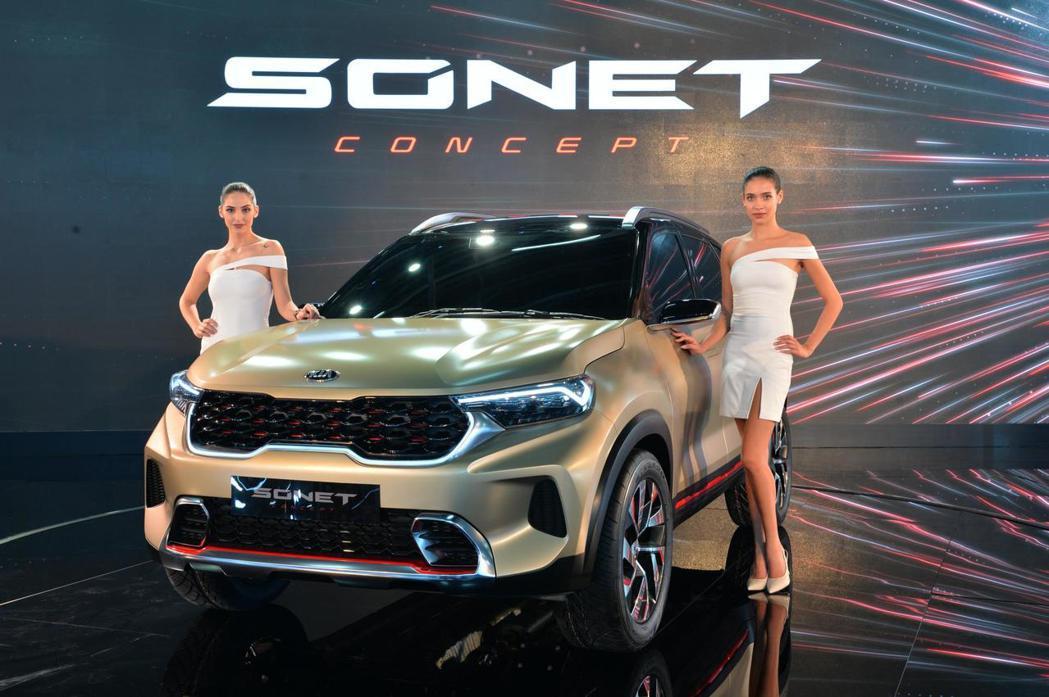 去年發表Seltos後,Kia於6日再度推出品牌最新小休旅Sonet Conce...