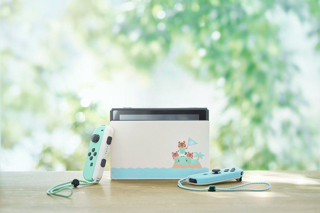 《集合啦!動物森友會》特別版主機配色清新,吸引不少女性玩家目光。