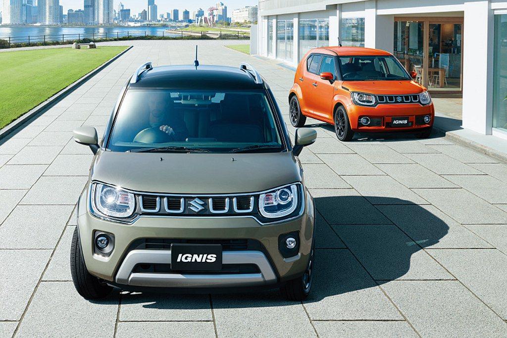 Suzuki Ignis於日本率先推出小改款車型。 圖/Suzuki提供
