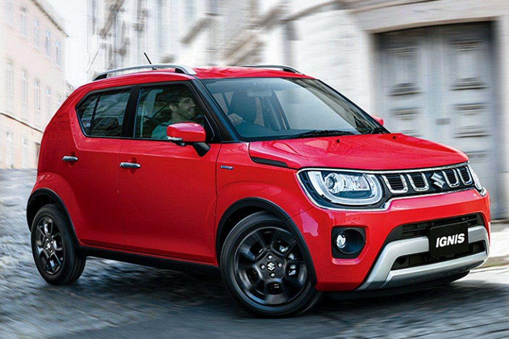 日規Suzuki Ignis新增MF車型,外觀有專屬前/後保桿、輪拱黑色防刮材質...