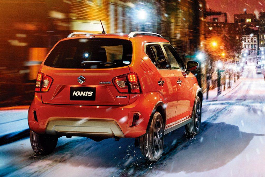 日規Suzuki Ignis動力搭載1.2L自然進氣汽油引擎,可提供91ps最大...