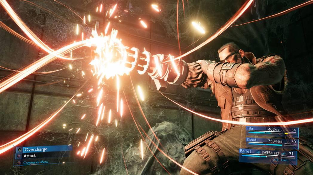 巴雷特的極限爆發「槍榴炸彈」。(圖片來源:官方網站)