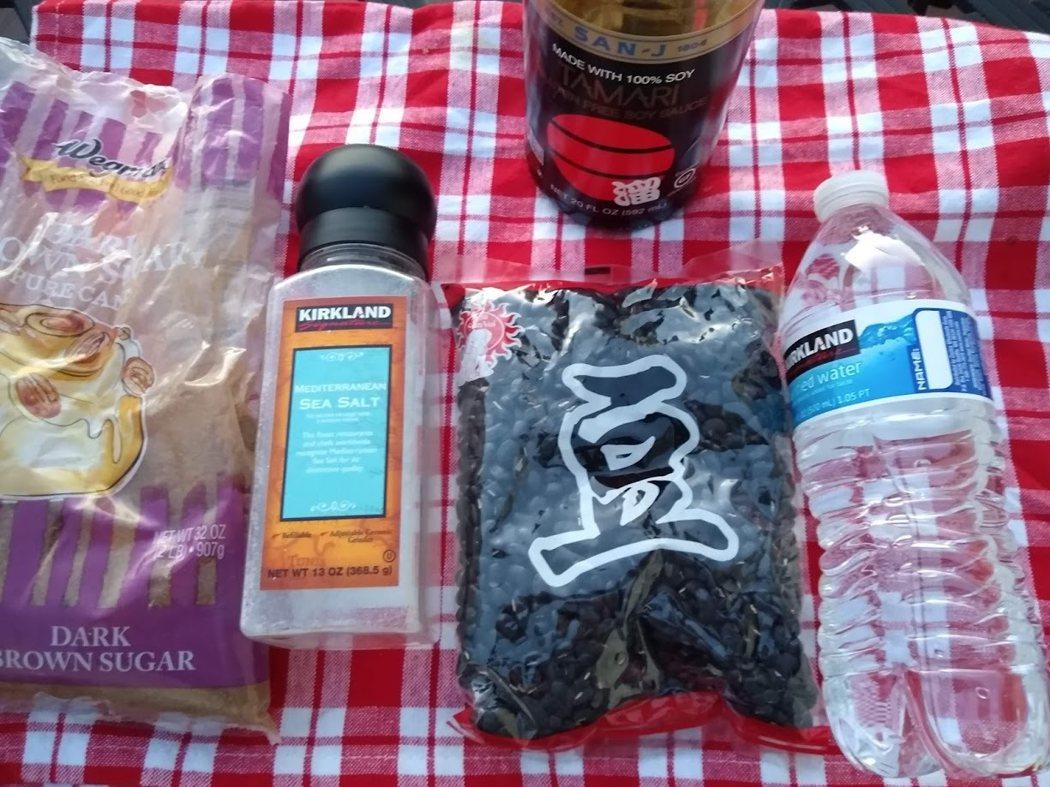 圖文:美國番媽/食譜/日式蜜黑豆