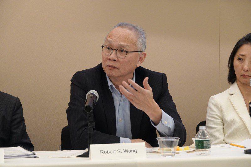 國務院前亞太經合組織(APEC)資深官員王曉岷(Robert Wang)。記者張文馨/攝影