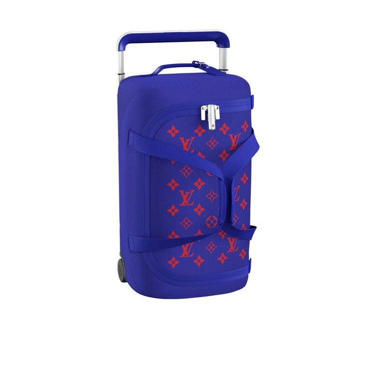 Horizon Soft藍與紅行李箱,售價94,000元。圖/LV提供