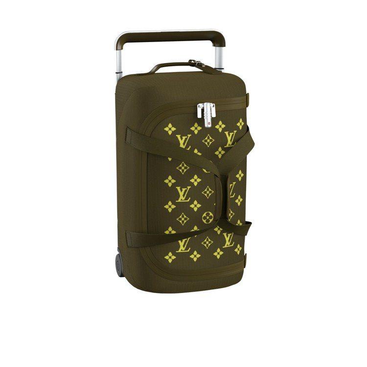 Horizon Soft卡其與黃行李箱,售價94,000元。圖/LV提供