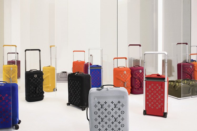 Horizon Soft行李箱系列主打輕質實用、搶眼時髦。圖/LV提供
