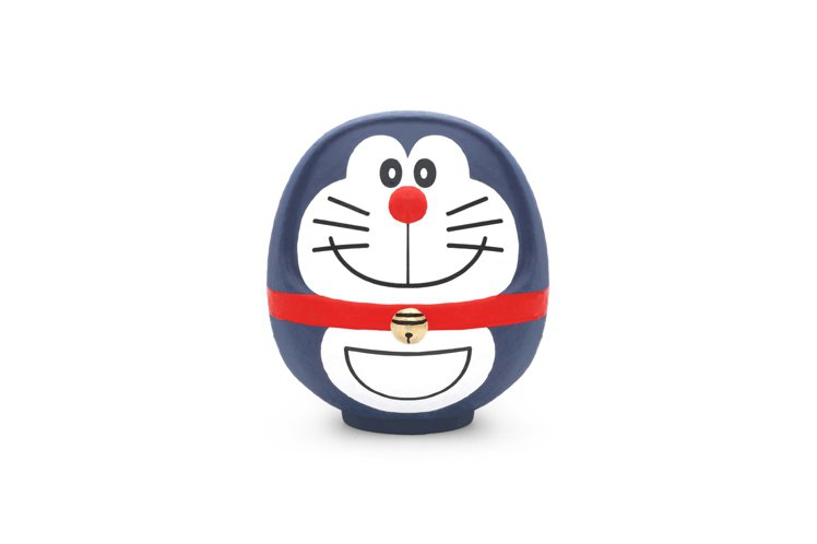 只要購買JINS哆啦A夢系列眼鏡限定商品,消費者有機會抽中原創的「哆啦A夢達摩不...