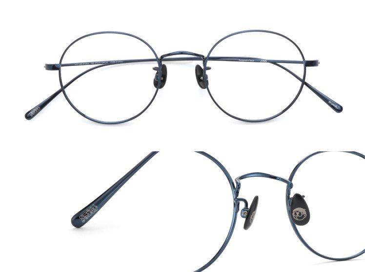 JINS哆啦A夢系列眼鏡大雄款。圖/JINS提供