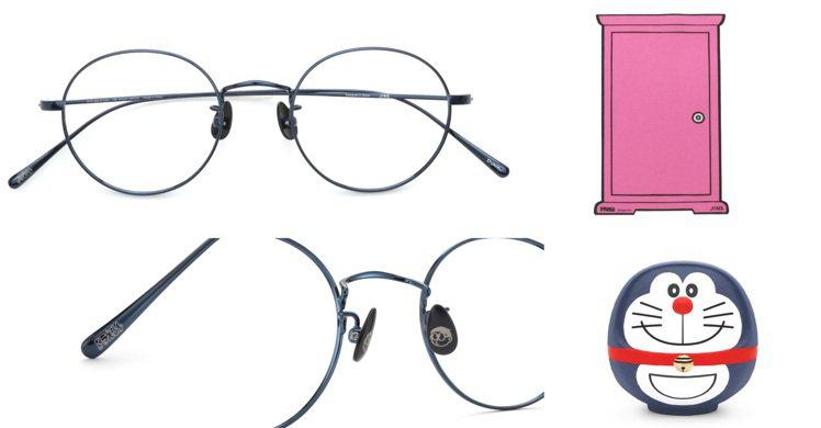 日本流行眼鏡品牌JINS為了慶祝「哆啦A夢」問世50周年,特別推出了聯名款,把經...